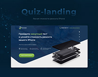 quiz landing iPhone
