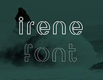 Irene - font