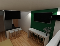 WIP - Appartment visualization UE4 2