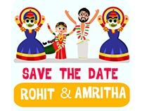 Rohit weds Amritha