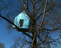 HOUSE ON THE TREE - site specific installation / 2010