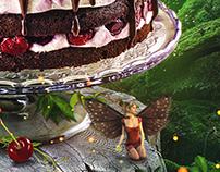 Schwarzwald cake (Black Forest Cake)