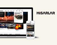 Hisarlar Company Web Site