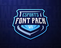 Esports Font Pack Vol. 1 by Dasedesigns