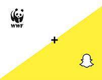 WWF/Snapchat Partnership Campaign
