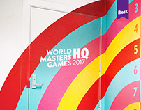 World Masters Games Office 2014.