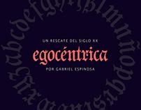 EGOCÉNTRICA - Font