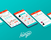 KANGA | MOBILE APP REDESIGN CASE REPORT