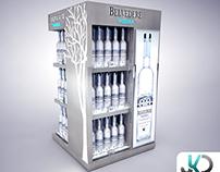 Belvedere Vodka Stand - Russia -