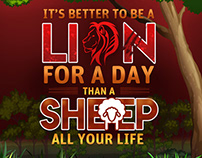 It's Better To Be A Lion