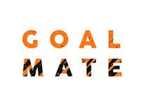Goalmate logo & infographics