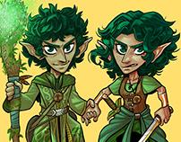 D&D Gnome Twins