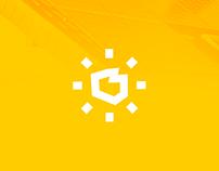 Polska Energia Słoneczna - logo na sprzedaż