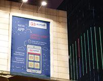 """""""Cuando llega G3"""" · App Design"""