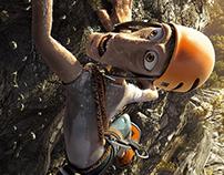 Coppertone -  mountain climber