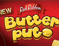 Red Ribbon Polvoron and Butter Puto Bus Ads