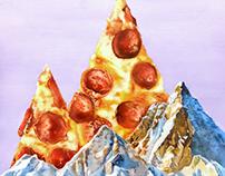Pepperoni Pizza Peaks