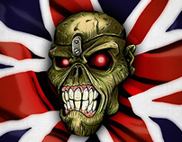 Iron maiden: Eddie The Head