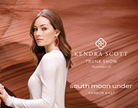 South Moon Under Kendra Scott Trunk Show Invites