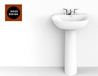 Manantial washbasin