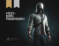 Modern Assassin Concept Art