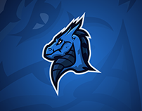 DRAGON MASCOT LOGO, FOR ASPYRE