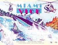 MIAMI VICE screenprint