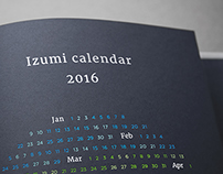 Izumi Calendar 2016