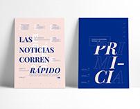 Poster tipográfico   Editorial
