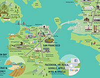 UCBerkeley Bay Area Map