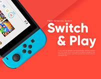 Nintendo Switch Redesign Concept