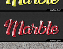 3D Marble Granite Style for Photoshop