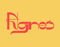 Agnes - A display font