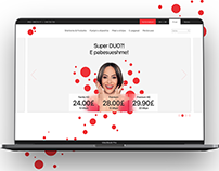IPKO TELECOMMUNICATIONS WEBSITE RE-DESIGN