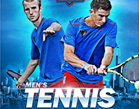 DePaul Men's & Women's Tennis Posters