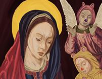 La Virgen de los Monitos