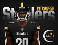 Pittsburgh Steelers Rebrand Concept