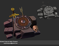 Stylised props