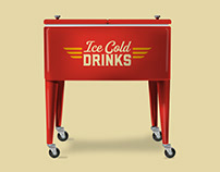 Retro Drink Coolers