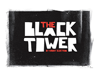 "Artwork Design Harry Elektron's album ""The Black Tower"""