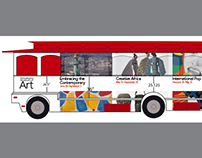 Philadelphia Museum of Art bus