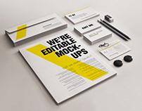 Stationery/Branding Mock-ups Set 3