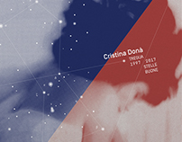 Cd and Record graphic design for Cristina Donà.
