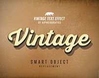 FREE Vintage Text Effect By Aiphotografics