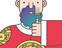 Sejong the Great Shaving
