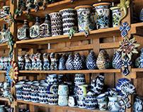 Typical pottery of San Antonio Palopó (Guatemala)