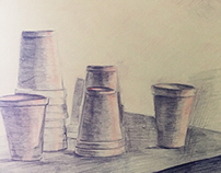 Cups Still Life