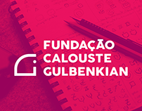 Logo System for Calouste Gulbenkian Foundation