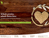 Print  I  Terra Greens Organic  I  Cereals Range