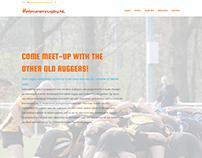 Website voor veteranenrugby.nl
